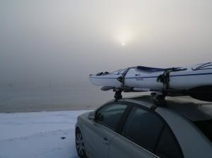 Gershøj i 15 graders frost