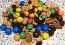 Trail Mix, kajak-guf, snack eller studenterhavre