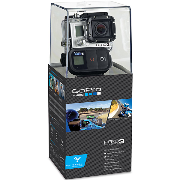 gopro hero 3 black edition kamera kajakgal. Black Bedroom Furniture Sets. Home Design Ideas