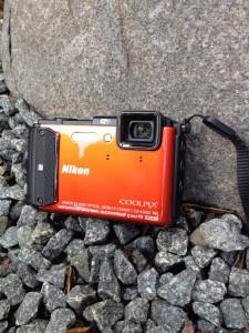 Vandtæt kamera test 2015